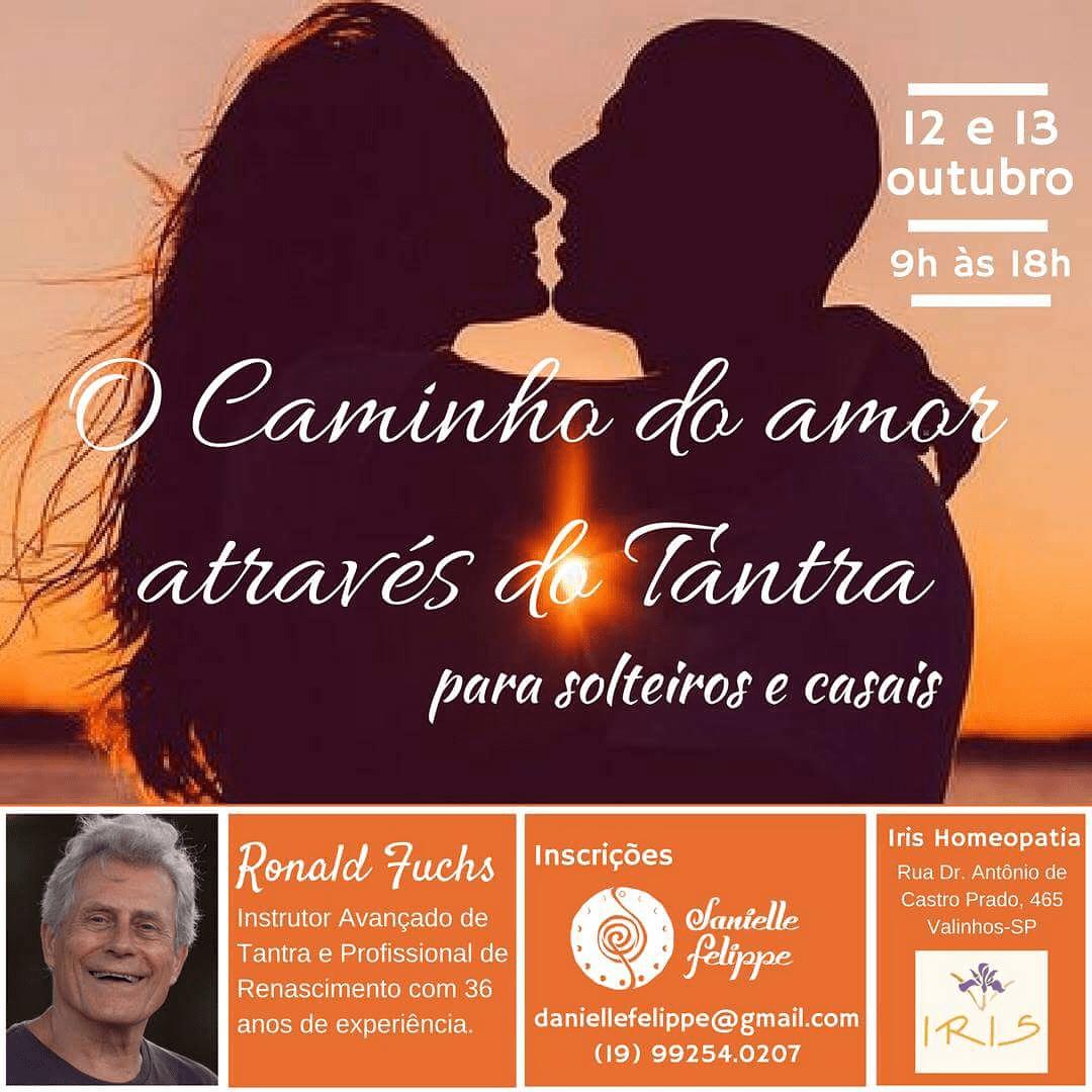 Caminho do Amor através do Tantra 12 e 13 Octubro en Sao Paulo