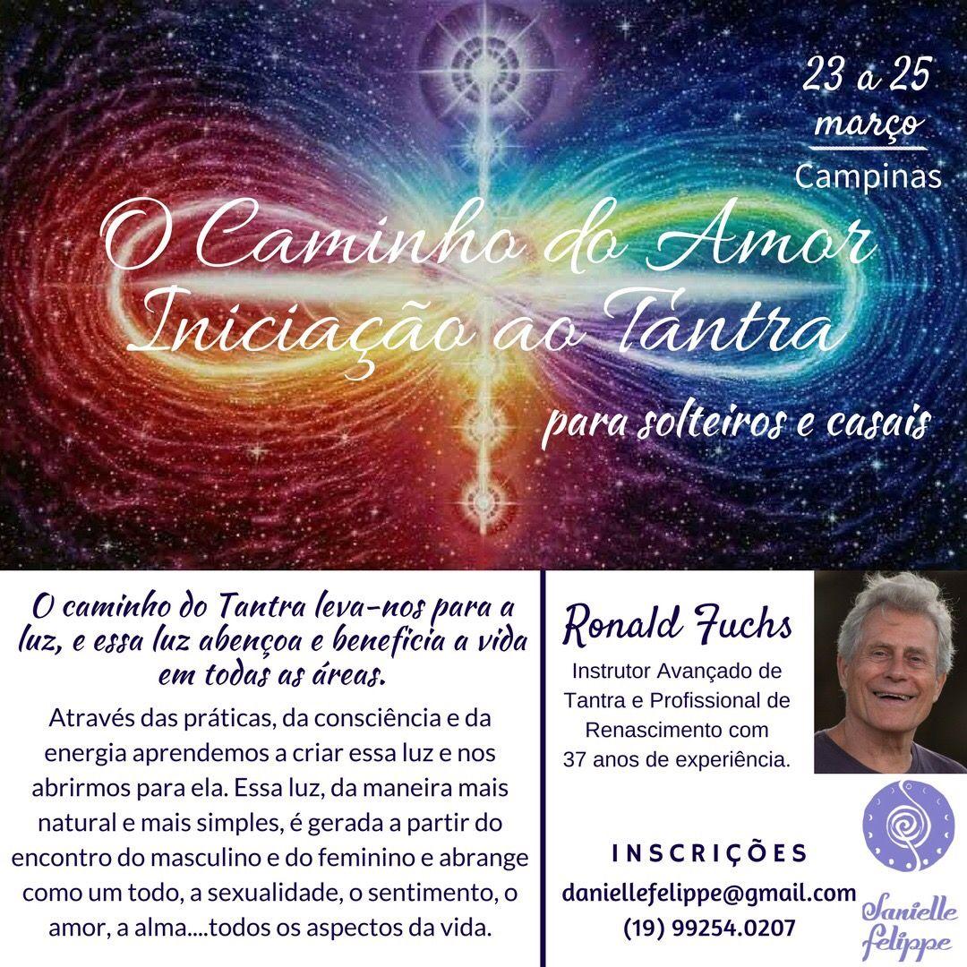 Introduçoã ao Tantra 23 a 25 Março em Campinas (Brasil)