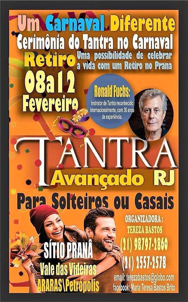 Tantra Avançado 8 ao 12 de Fevereiro em Rio de Janeiro (Brasil)