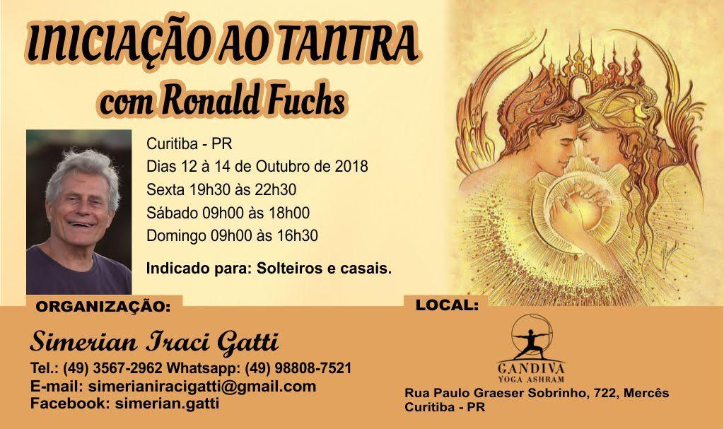 Iniciação ao Tantra 12 á 14 Outubro Curitiba (Brasil)