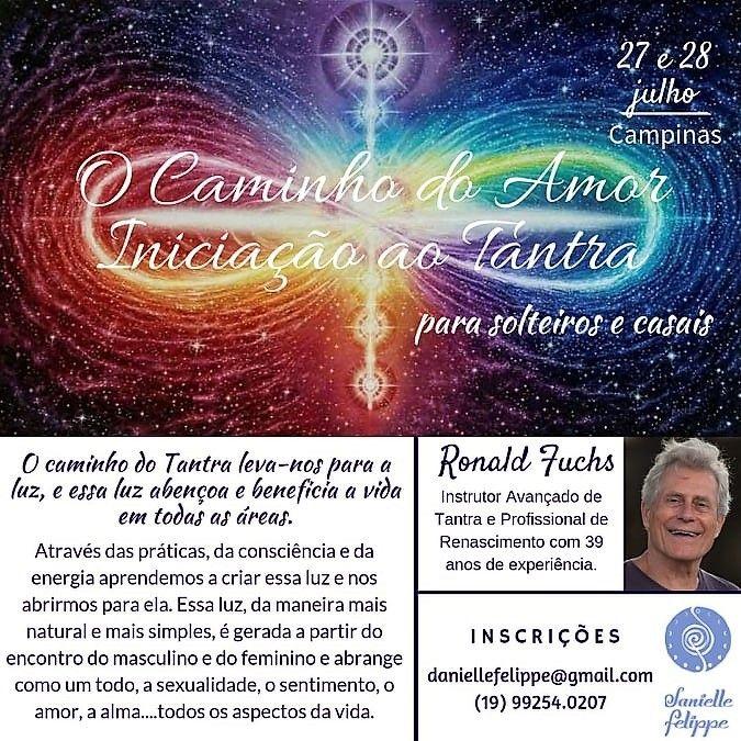 Iniciação ao Tantra 27 e 28 Julho Campinas SP (Brasil)