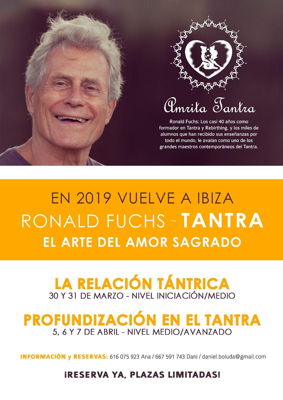 Curso de Tantra 5, 6 y 7 de Abril en Ibiza