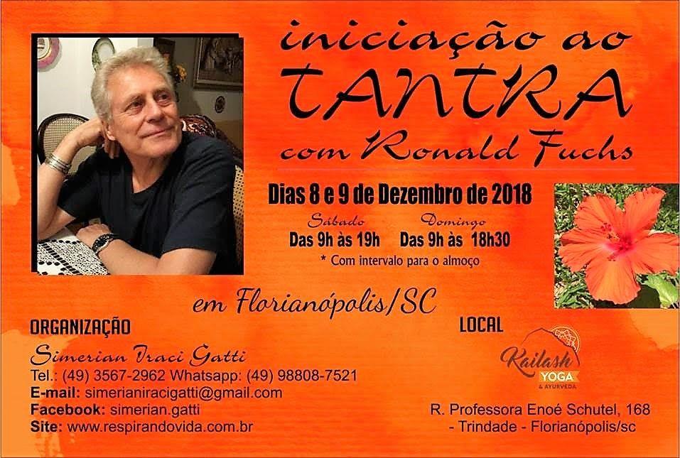 Iniciação ao Tantra 8 e 9 de Dezembro en Florianópolis S/C (Brasil)