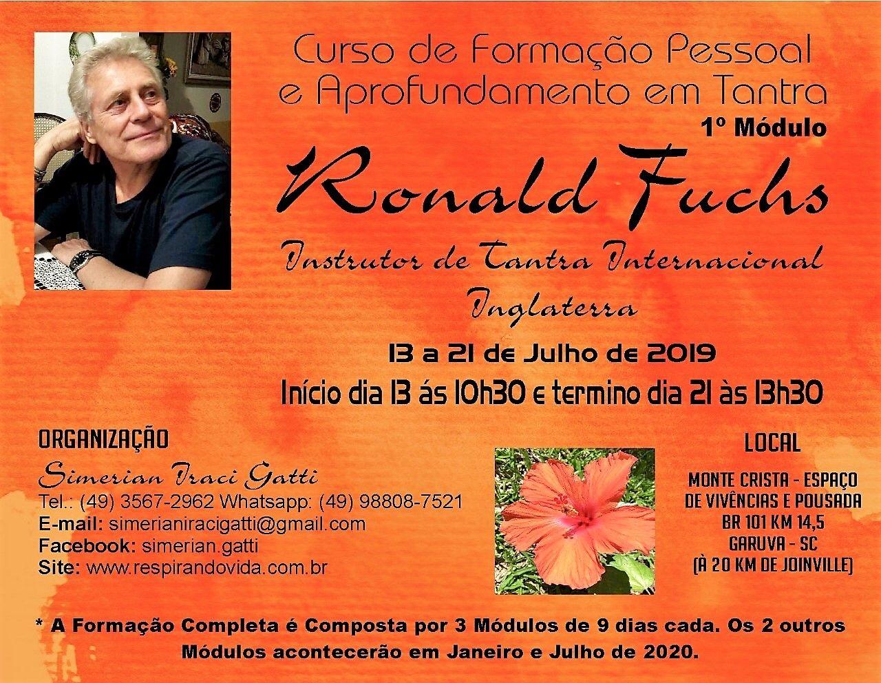 Formação Pessoal e Aprofundamento em Tantra do 13 ao 21 de Julho Garuva (Brasil)