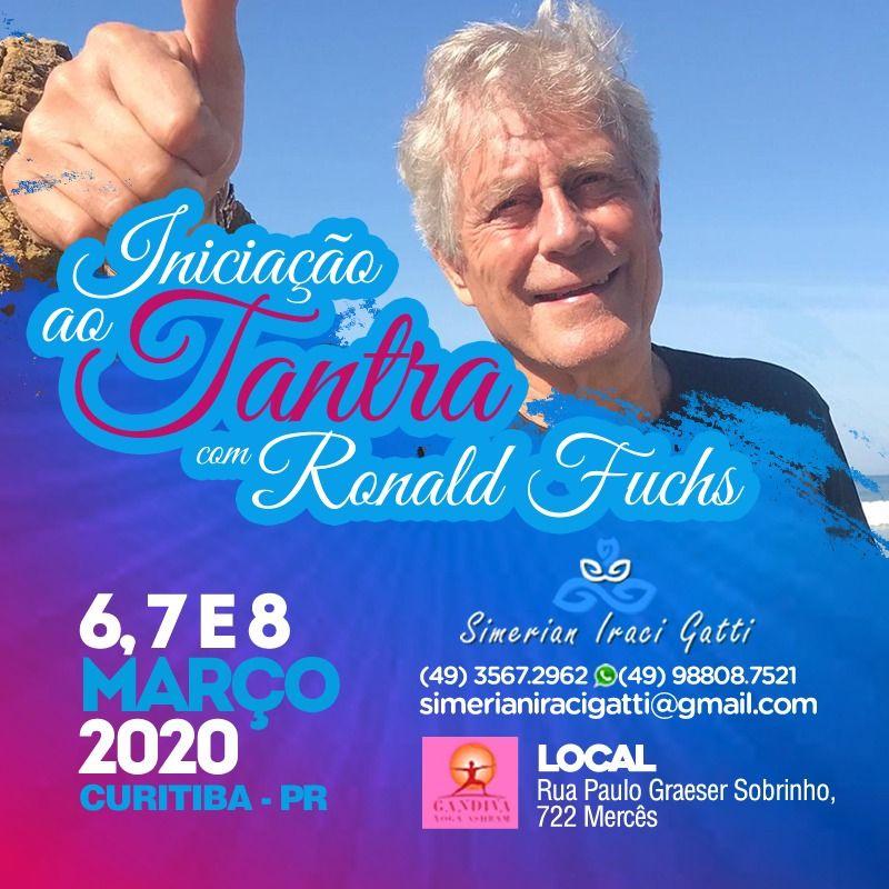 Iniciação ao Tantra6, 7 e 8 de Março em Curitiba/PR (Brasil)