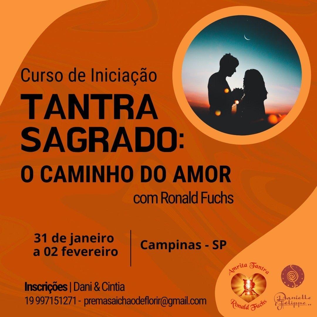 Curso Iniciação ao Tantra 31 Janeiro a 2 Fevereiro en Campinas - SP